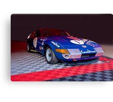 1971 Ferrari 365 GTB Daytona Competizione Canvas Print