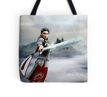Soldier Of The God Tote Bag