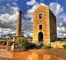 Moonta Mines -  Yorke  Peninsula  - South Australia by Michael Tapping