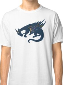 Color Burst Dragon Classic T-Shirt
