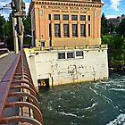 Spokane Upper River Power Plant by Tamara Valjean