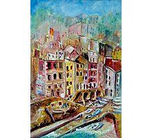 Riomaggiore, The Cinque Terre, ITALY Photographic Print