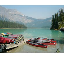 Emerald Lake 2, Yoho National Park, Alberta, Canada Photographic Print
