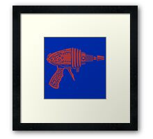 Sheldon Cooper's Ray Gun Framed Print