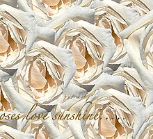 ROSES LOVE SUNSHINE... (CARD) by Thomas Barker-Detwiler