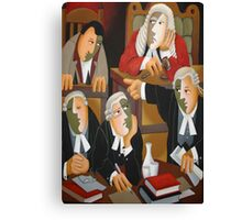 THE TRIAL Canvas Print