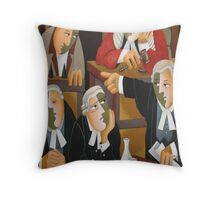 THE TRIAL Throw Pillow