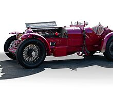 1932 Alpha Romeo P3 Race Car by DaveKoontz