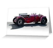 1932 Alpha Romeo P3 Race Car Greeting Card