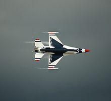 USAF Thunderbird, F-16 Fighting Falcon by cshphotos