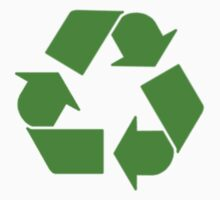 Leonard's Other Recycling Symbol by kerchow