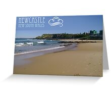 Newcastle - New South Wales Greeting Card