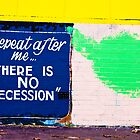 There is no recession by Alex Howen
