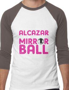 Alcazar Mirror Ball Men's Baseball ¾ T-Shirt