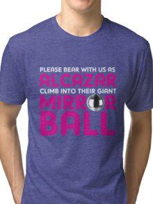 Alcazar Mirror Ball Tri-blend T-Shirt