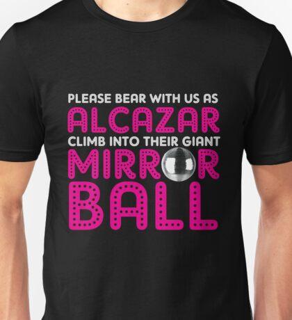 Alcazar Mirror Ball Unisex T-Shirt