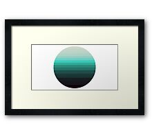 Shaded Moon I  Framed Print