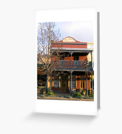 historic building in Grenfell Greeting Card