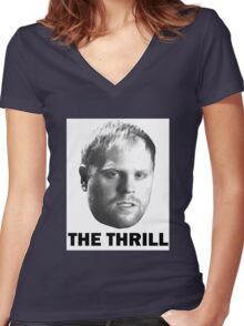 "Phil ""The Thrill"" Kessel Women's Fitted V-Neck T-Shirt"