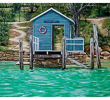 Lovett Bay Wharf Photographic Print
