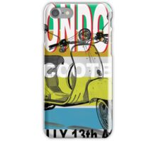 London Scooter Rally iPhone Case/Skin