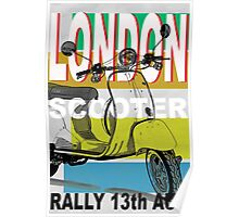 London Scooter Rally Poster