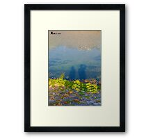 Love Eco Framed Print
