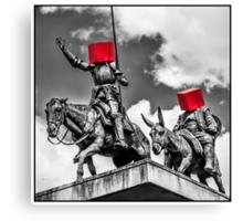 Urban Disorders—Don Quixote Canvas Print