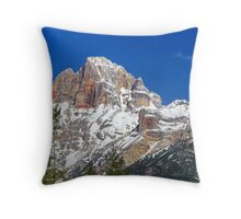 Dolomite Dreaming II Throw Pillow