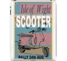 Isle of Writer Scooter Rally iPad Case/Skin