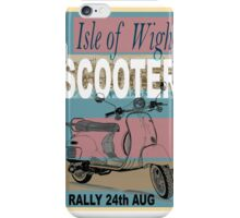 Isle of Writer Scooter Rally iPhone Case/Skin
