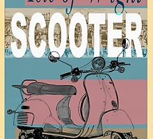 Isle of Writer Scooter Rally by Edward Fielding