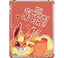 Flareon Love iPad Case/Skin