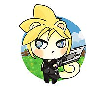 ACNL Cloud Strife by FunkySockzLover