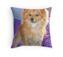 That Darn Dog Throw Pillow