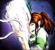 Spirited Away - Chihiro & Haku by mercurystorm