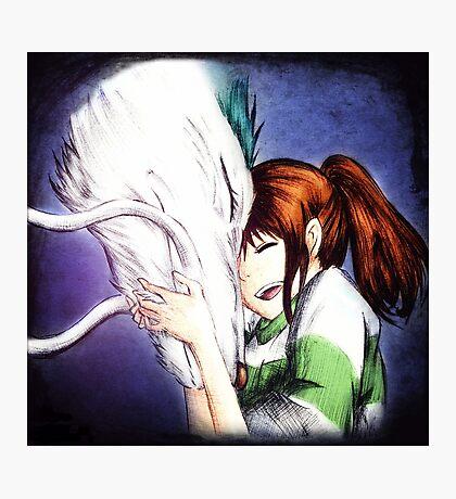 Spirited Away - Chihiro & Haku Photographic Print