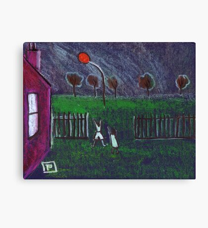 The Lost Balloon Canvas Print