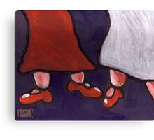 New Red Shoes Canvas Print