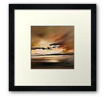 Warm Light2 Framed Print