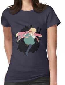 Dancing in the sky Womens Fitted T-Shirt