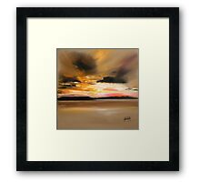 Warm Light 1 Framed Print