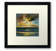 Skye Shore I Framed Print