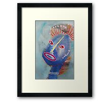 April 14 Number 17 Framed Print