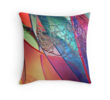 Abstract Plastic Throw Pillow