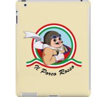 Il Porco Rosso iPad Case/Skin