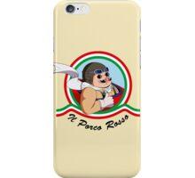 Il Porco Rosso iPhone Case/Skin