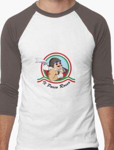 Il Porco Rosso Men's Baseball ¾ T-Shirt