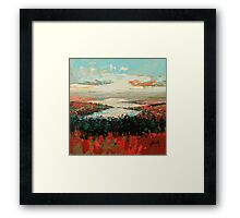 Loch Garry Haze Framed Print