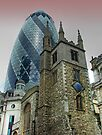 The Gherkin Building - City of London by Colin J Williams Photography